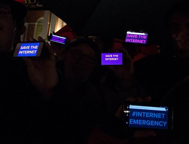 Net Neutrality Vigil