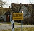 Neukirchen (Sachsen bei Ansbach), Ortsschild 2553.jpg