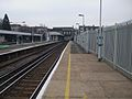 New Cross Gate stn northbound slow look south.JPG
