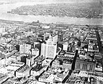 New Orleans Business District from the Air Looking Towards Algiers Point 1922.jpg