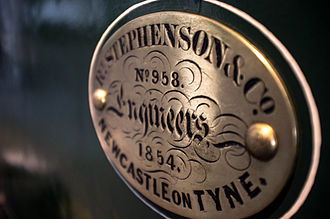Builder's plate - Image: New South Wales Government Locomotive No. 1c