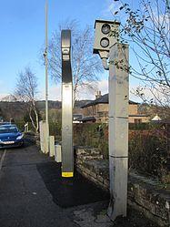New level crossing enforcement cameras in Dingwall (15857150970).jpg