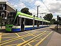 New tram in Croydon (geograph 3745411).jpg