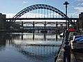 Newcastle Townscape Bridges Over The Tyne (geograph 3347335).jpg
