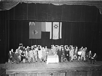 Canadian Jewish Congress - Meeting of the Canadian Jewish Congress in 1946