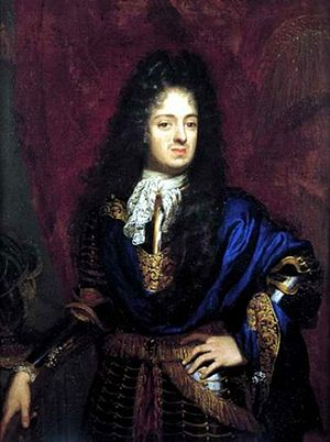 Ferdinando de' Medici, Grand Prince of Tuscany - Image: Niccolò Cassani, Gran Principe Ferdinando (1687, vasari corridor Uffizi)