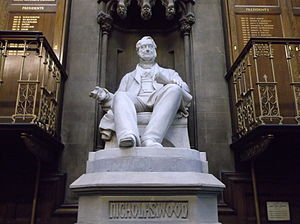 Nicholas Wood - The statue to Nicolas Wood