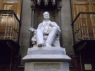 Nicholas Wood - The statue to Nicolas Wood