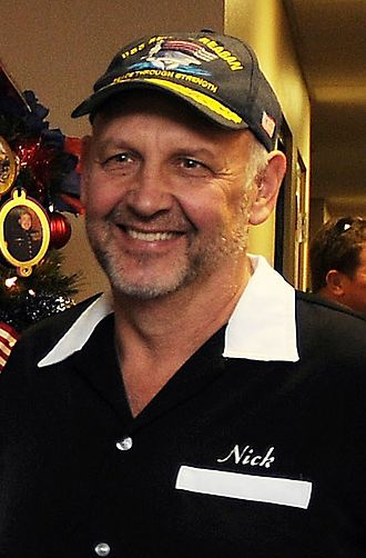 Nick Searcy - Searcy at the Naval Medical Center San Diego, 2013