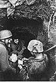 Niemieccy spadochroniarze w podziemnym schronie na froncie włoskim (2-2252).jpg