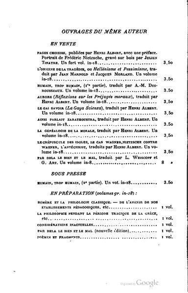 File:Nietzsche - Ainsi parlait Zarathoustra (trad. Albert, 1903).djvu