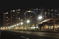 Night View of Urban of Puning in Jan 2011.jpg