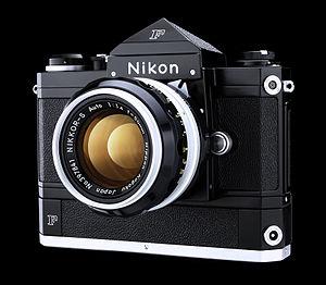 Nikon - Nikon F Motor Black Camera