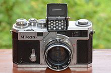 Nikon SP chrome with exposure meter and NIKKOR-S 1,4 f=5cm.JPG