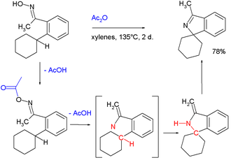 Nitrene - Synthesis of cyclic and spiro-fused imines