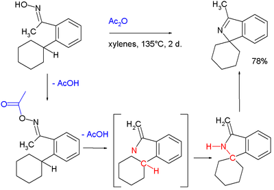 Synthesis of Cyclic and Spiro-Fused Imines