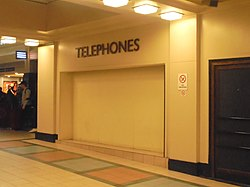 No more payphones anymore, Leeds City Station, (23rd December 2018).jpg