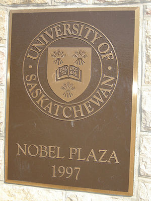 University of Saskatchewan - Nobel Plaza, University of Saskatchewan