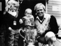 Norman's 1986 World Match Play victory with children Morgan Leigh and Gregory.tif