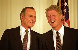 Reagan Era - George H. W. Bush and Bill Clinton