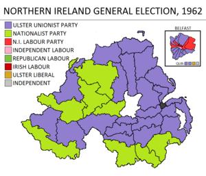 Northern Ireland general election, 1962 - Image: Northern Ireland general election 1962