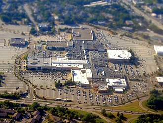 Northshore Mall - Aerial view of Northshore Mall in July 2016