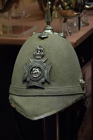 Militia and Volunteers of Northumberland - Image: Northumberland Fusiliers 1st Volunteer Battalion officers helmet