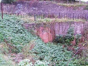 Chesterfield Canal - The eastern portal of the Norwood Tunnel
