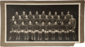 1925 Notre Dame Fighting Irish football team - Image: Notre Dame football team 1925