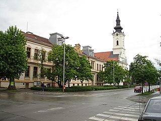 Nova Gradiška Town in Brod-Posavina, Croatia
