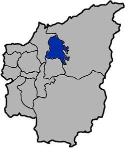 Location of Puli in Nantou County
