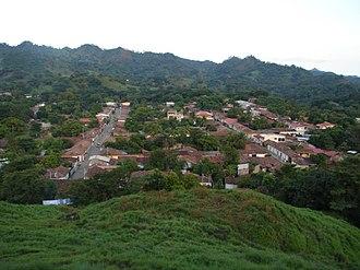 Nueva Esparta, El Salvador - View of Town from La Peñona