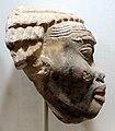 Nuovo regno, regno di ramesse III, testa di nubiano, 1184-1153 ac ca.jpg
