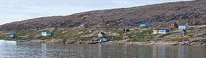 Nutaarmiut Island (Tasiusaq Bay) - Nutaarmiut settlement