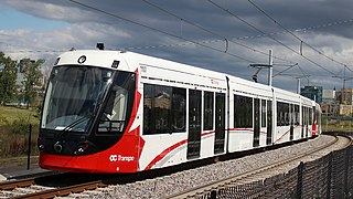 Alstom Citadis Spirit Light rail vehicle custom-made for North American market
