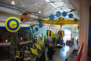 The Turbine Hall at Oregon Museum of Science a...