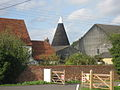 Oast at Congelow Farm, Benover Road, Yalding, Kent - geograph.org.uk - 329475.jpg