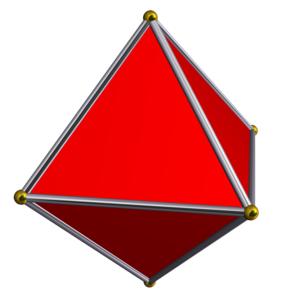Cross-polytope - A 3-dimensional cross-polytope