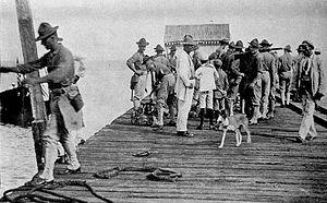 Español: Ocupación militar del 1916 en Repúbli...