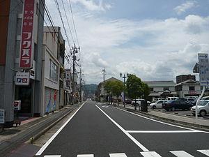 Ōda, Shimane - Streets of Ōda