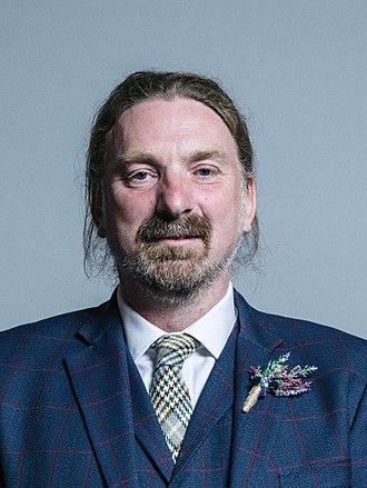Chris Law (politician) - Law in 2017