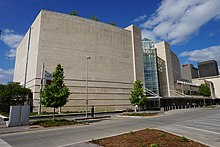 The front of the museum in May 2016 Oklahoma City May 2016 31 (Oklahoma City Museum of Art).jpg