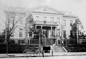 Old Naval Hospital - Old Washington Naval Hospital, 1900