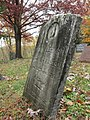 Old Headstone in Balls Mills Cemetery - panoramio.jpg