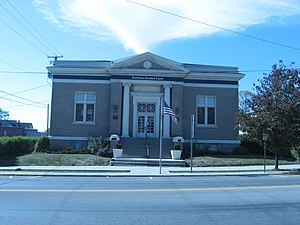 National Register of Historic Places listings in Hardin County, Ohio - Image: Old Kenton Public Library