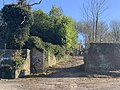 Old Town Wall, Frome- Eastern junction wall from Upper Vicarage Street.jpg