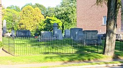 Old White Church Cemetery (view from Aspen St.), Lincolnton, NC.jpg