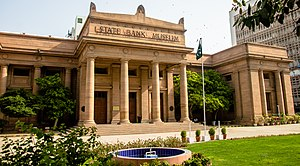 Karachi - The former State Bank of Pakistan building was built during the colonial era.