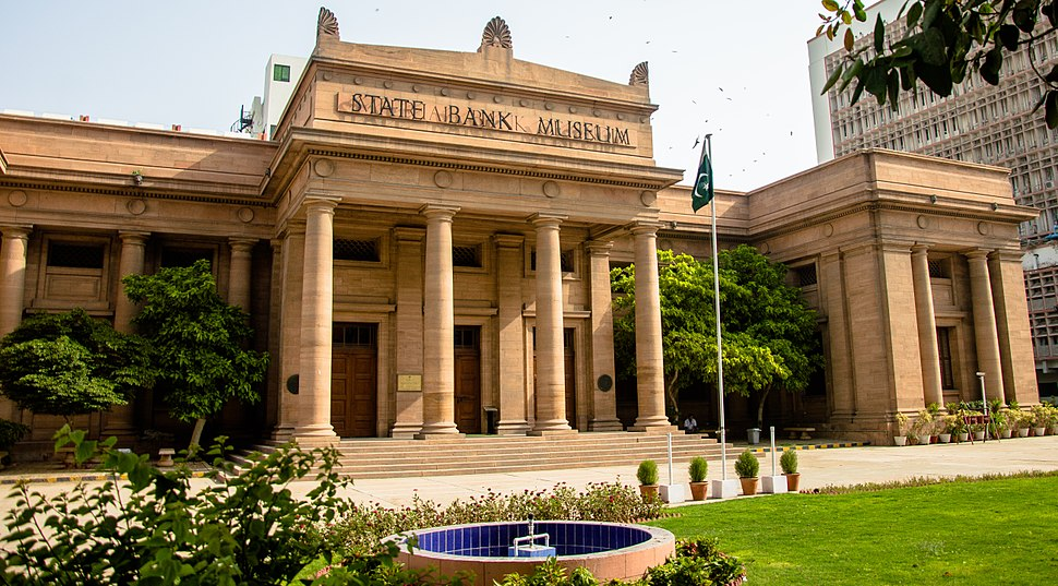 Old building of State Bank of Pakistan, Now its known as State Bank Museum