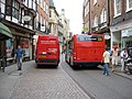 Old city streets - modern transport - a bad mix - geograph.org.uk - 742325.jpg